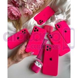 atacado-capa-para-celular-silicone-case-veludo-iphone-12-6-1-pink-20