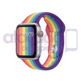 atacado-pulseira-para-apple-watch-silicone-arco-iris-40-38-20