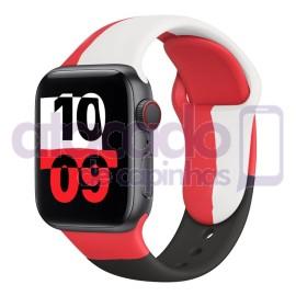 atacado-pulseira-silicone-para-apple-watch-black-unity-dual-colors-20