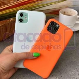 atacado-capa-para-celular-silicone-case-veludo-iphone-12-6-1-laranja-20