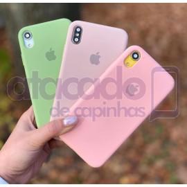 atacado-capa-para-celular-silicone-case-veludo-iphone-12-6-1-verde-agua-20