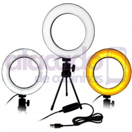 atacado-kit-ring-light-com-tripe-iluminador-led-6-polegadas-youtuber-selfie-make-10